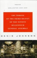 Cover of: The Throne of the Third Heaven of the Nations Millennium General Assembly: Poems Collected and New