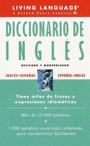 Cover of: Diccionario de Inglés | Living Language