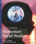Cover of: Effective teaching in elementary social studies