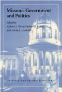 Cover of: Missouri government and politics