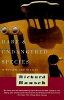 Cover of: Rare & endangered species | Richard Bausch