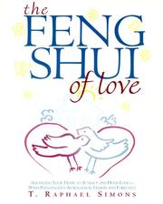 Cover of: The Feng Shui of Love | T. Raphael Simons