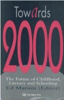 Cover of: Towards 2000 |