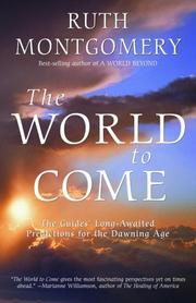 Cover of: The World to Come