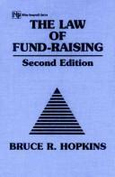 Cover of: The Law of Fund-Raising