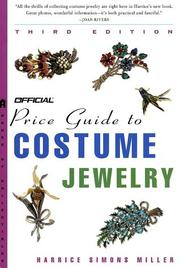 Cover of: The Official Price Guide to Costume Jewelry