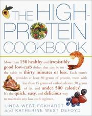 Cover of: The High-Protein Cookbook | Linda West Eckhardt