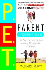 Cover of: Parent effectiveness training