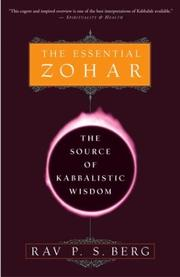 Cover of: The Essential Zohar | Rav P.S. Berg