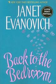 Cover of: Back to the Bedroom LP | Janet Evanovich