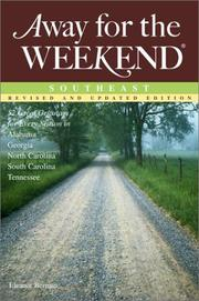 Cover of: Away for the weekend, Southeast