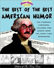 Cover of: Funny times presents the best of the best American humor | edited by Raymond Lesser and Susan Wolpert.