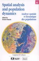 Cover of: Spatial analysis and population dynamics = |
