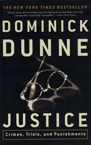 Cover of: Justice | Dominick Dunne