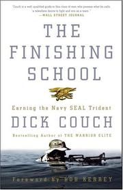 Cover of: The Finishing School | Dick Couch