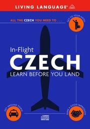 Cover of: In-Flight Czech | Living Language