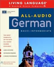 Cover of: All-Audio German | Living Language