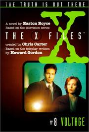 Cover of: Voltage #8 (X-Files (HarperCollins Age 9-12)) | Easton Royce