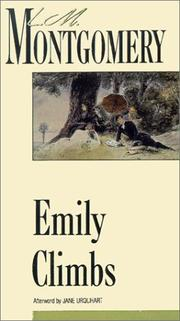 Cover of: Emily Climbs (New Canadian Library) by L. M. Montgomery