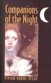 Cover of: Companions of the Night | Vivian Vande Velde