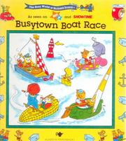 Cover of: Busy town boat race
