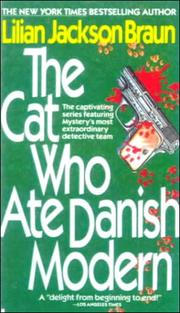 Cover of: The cat who ate Danish modern