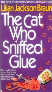 Cover of: The cat who sniffed glue