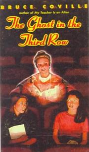 Cover of: The Ghost in the Third Row