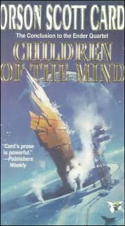 Cover of: Children of the Mind