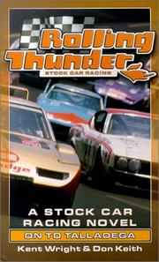 Cover of: On to Talladega (Rolling Thunder Stock Car Racing)