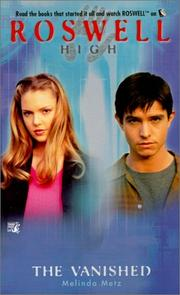 Cover of: The Vanished (Roswell High)