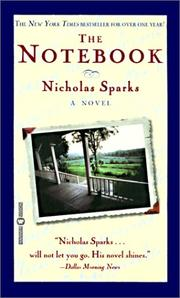 Cover of: The Notebook | Nicholas Sparks