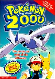 Cover of: Pokemon the Movie 2000