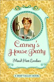 Cover of: Carney's House Party (Deep Valley Book)