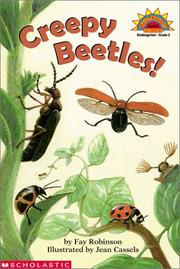 Cover of: Creepy Beetles