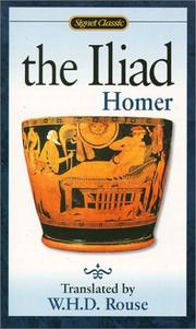 Cover of: The Iliad | Homer