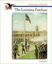 Cover of: The Louisiana Purchase (Cornerstones of Freedom)