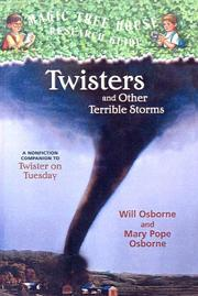 Cover of: Twisters and Other Terrible Storms