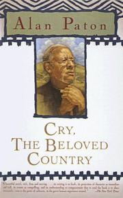 Cover of: Cry, the Beloved Country