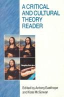 Cover of: A Critical and cultural theoryreader |