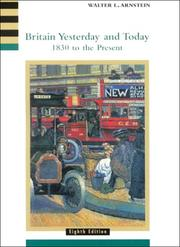 Cover of: Britain yesterday and today