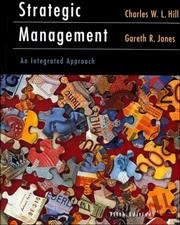 Cover of: Strategic Management: an integrated approach
