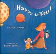 Cover of: Happy to you!