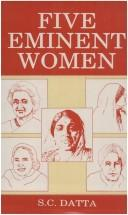 Cover of: Women in contemporary Indian Society |