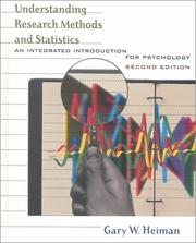 Cover of: Understanding research methods and statistics