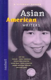 Cover of: Asian American writers. |