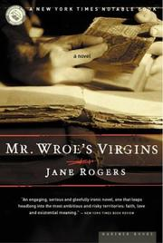 Cover of: Mr. Wroe's virgins
