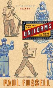 Cover of: Uniforms