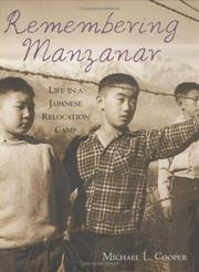 Cover of: Remembering Manzanar