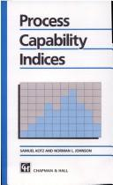 Cover of: Process capability indices